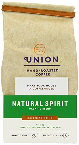 Union Organic Natural Spirit Blend Espresso Ground Coffee 200 g (Pack of 3) 41IKhmp0kTL
