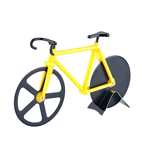 calish-bicycle-pizza-cutter-dual-stainless-steel-bike-pizza-cutter-wheel-yellow-black