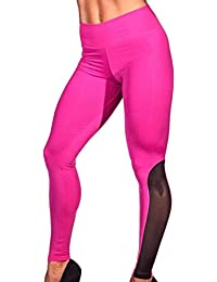 e33a7bd76ffd Homebaby Sportivi Donna Pantaloni Vita Alta Donna - Eleganti Sottile Yoga Leggings  Sport Opaco Fitness Spandex