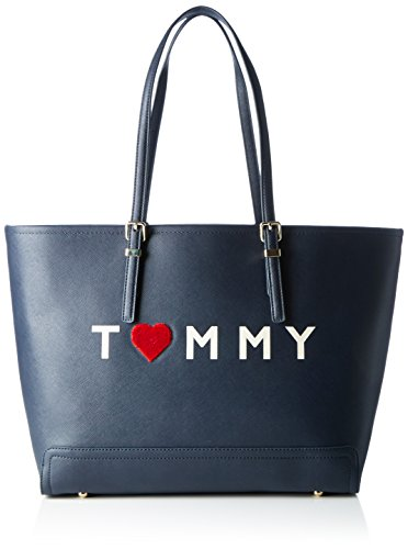 tommy-hilfiger-damen-honey-ew-tote-love-blau-tommy-navy-13x32x48-cm