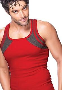 0f86a6886dba4 Lux Gen-X Men s Cotton Vest (Colour-Assorted)(Pack Of 2