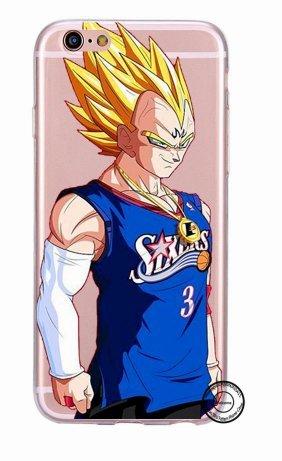 Coque Iphone 5 Nba - Coque iPhone 5/5S NBA SIXERS Super Sayan