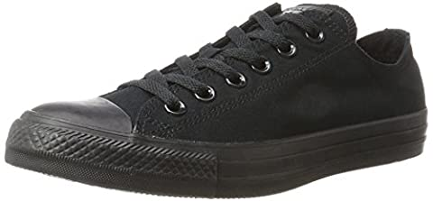 Converse Chuck Taylor All Star Ox, Unisex Adults' Low-top Sneakers, Black, 16 UK
