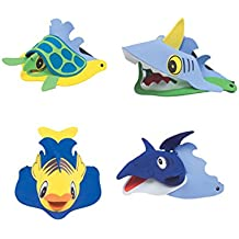 Child's Foam Sea Life Animal Party Visor Hat 12 Count Costume Accessory by Rhode Island Novelty