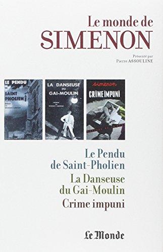 MONDE DE SIMENON T19 LIEGE