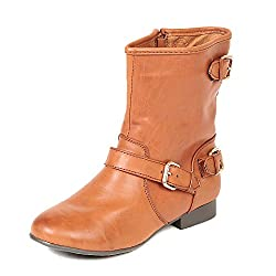 TEN Tan Leather Boots