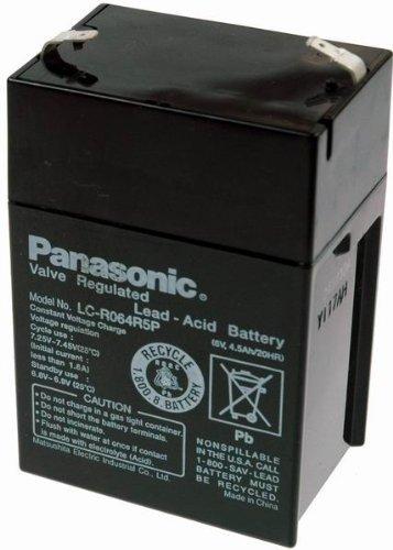 Panasonic Blei-Akku 6V / 4,5Ah LC-R064R5P, 6V, 4500mAh, Pb Panasonic Akku 6
