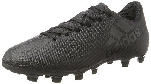 adidas Herren X 17.4 Fxg Fußballschuhe, Schwarz (Core Black/Core Black/Utility Black), 44 EU