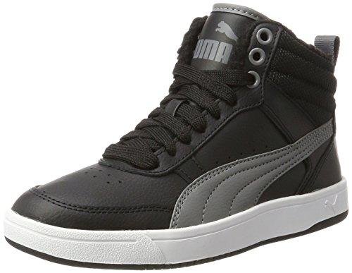 Puma Unisex-Erwachsene Repercussion Street v2 fur Sneaker, Schwarz (Black-Smoked Pearl), 43 EU