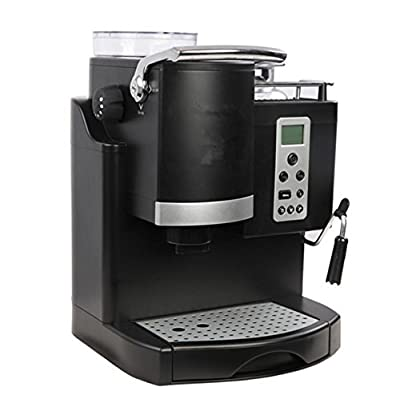 WSHWJ Automatic Bean Coffee Machine Automatic Coffee Machine Home Commercial Coffee Machine by WSHWJ