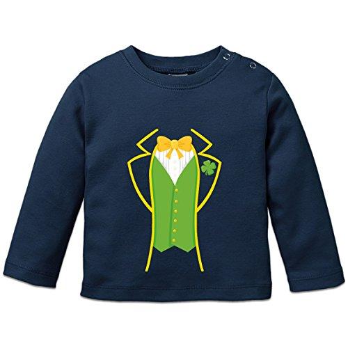 St Patrick's Day Costume Baby Langarmshirt by Shirtcity