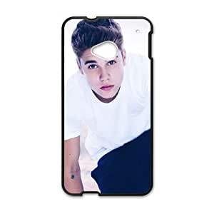 HTC One M7 Cell Phone Case Black Justin Bieber vyjv