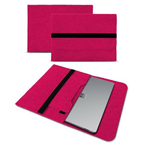 Microsoft Surface Laptop 13,5 Sleeve Cover Hülle Tasche Notebook Filz Case Schutzhülle, Farben:Pink