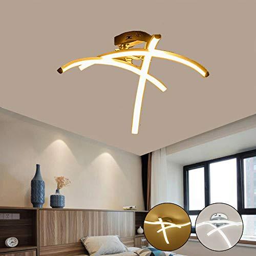 Plafoniera Design Moderno Camera Da Letto.Allomn Plafoniera A Led Lampada Lampadario Plafoniera Dal Design