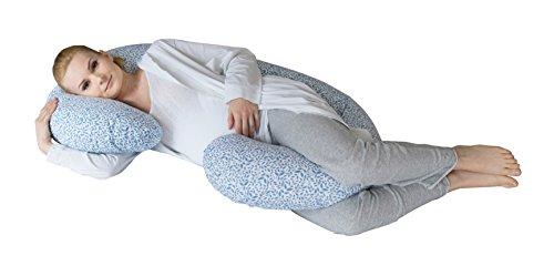 Motherhood 5901323922909 Still- und Lagerungskissen Blätter inklusive Bezug 100% Baumwolle -...