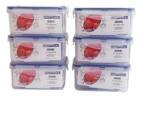 Kunststoff-Kühlschrank Crisper Set Sealed Box Lebensmittel-Boxen Mikrowelle Ofen-Boxen