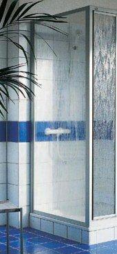 Nova 2000 Seitenwand,Maß: 900 mm, Profile silber mattglanz