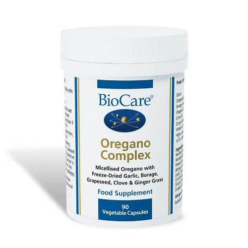 Biocare Oregano Complex (Anti Hefe Formel) 60 Kapseln - Anti-hefe-formel