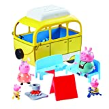 Peppa Pig Caravan Car Yellow lemon tree
