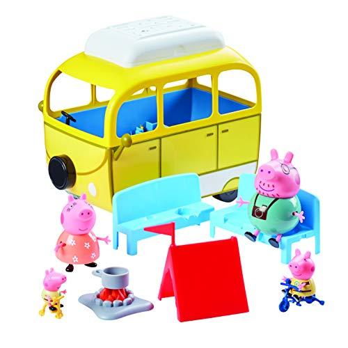 Peppa Pig Caravane Jaune Citronier