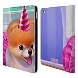 Head Case Designs Offizielle Boo-The World's Cutest Dog Party Hut Charakter Kunst Brieftasche Handyhülle aus Leder für iPad Air 2 (2014)