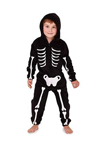 Loungeable, Damen Luxus 3D Neuheit Spooky Halloween Fancy Kleid Jumpsuit, 796-3d-halloween, 796-3D-HALLOWEEN