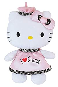 Jemini 023360Hello Kitty Peluche I Love Paris +/-17cm