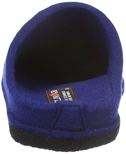 Haflinger Unisex-Erwachsene Flair Soft Pantoffeln Blau (Pazifik 71)