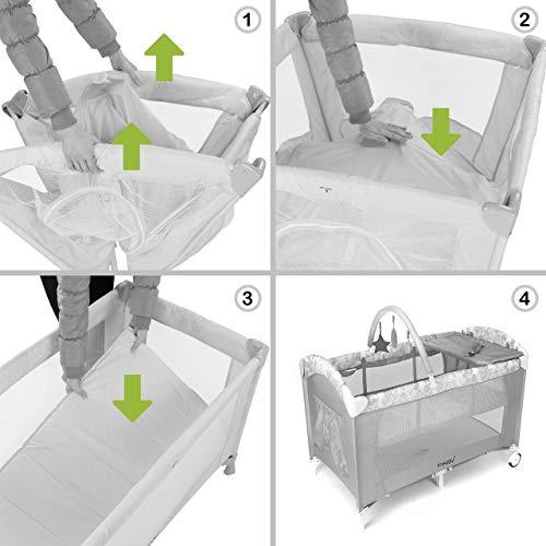 Froggy Reisebett Komplett-Set - 7