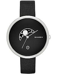 Skagen Damen-Armbanduhr Analog Quarz Leder SKW2372