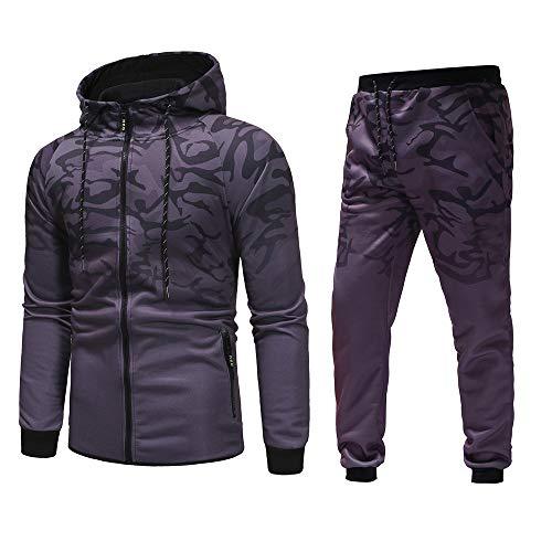 ing Anzug Herbst Winter Camouflage Sweatshirt Top Hose Sets Sportanzug Trainingsanzug ()