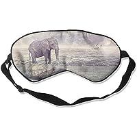 Eye Mask Eyeshade Elephant Turtle Sea Sleeping Mask Blindfold Eyepatch Adjustable Head Strap preisvergleich bei billige-tabletten.eu