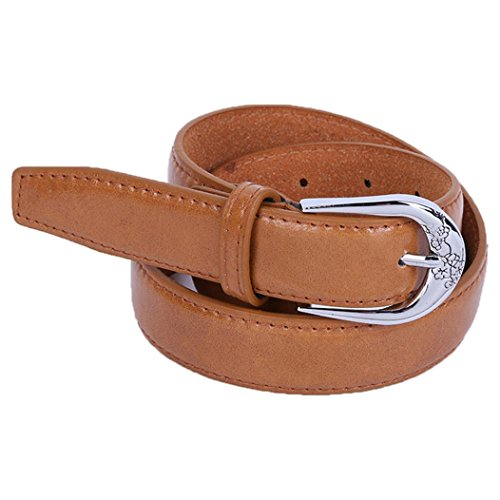 fulltimetm-womens-vintage-accessories-casual-thin-leisure-belt-for-jeans-dresses-brown