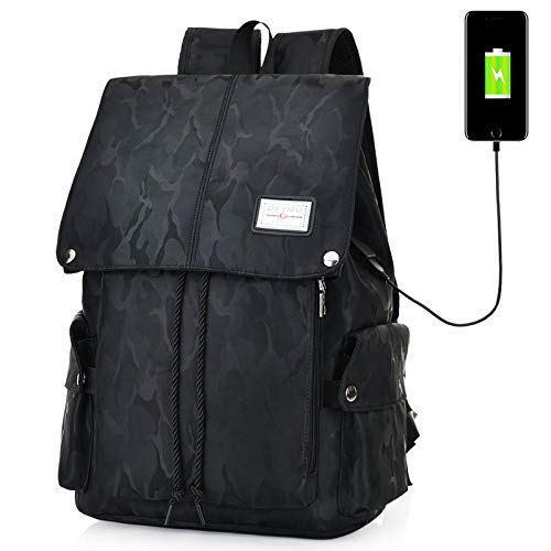 HXG Laptop Rucksack 13 Zoll Wasserdichte Reisetasche Studententasche Business Leichte Männer und Frauen Rucksack Große Kapazität Polyester