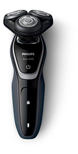 Philips S5110/06 Series 5000 Rasoio Elettrico con Lame MultiPrecision, Testina Flex 5 Direzioni + Rifinitore Precisione