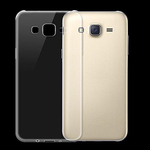 KTC Plus Soft Silicone TPU Transparent Back Cover For Samsung Galaxy J5(J500) Model 2015 Year