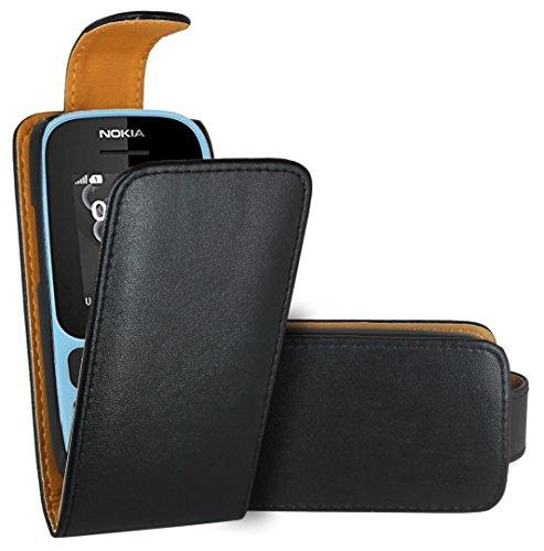 Nokia 105 (2017) Custodia Cover Case, FoneExpert® Flip Case Custodia Pelle accessori Protective A Libro Cover per Nokia 105 (2017)