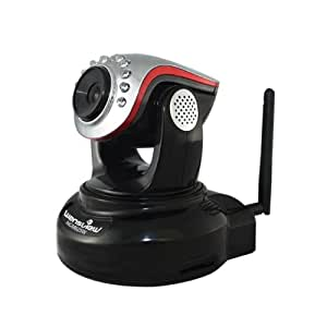 iClever®Wansview caméra ip de surveillance NCM625W 720p H264/MJPEG sans fil WIFI pour intérieur IR_CUT avec vision de nuit CMOS senseur