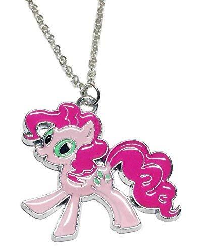 Main Street Dancewear Halskette mit Anhänger My Little Pony Pinkie Pie Emaille gefüllt (Pie Erwachsene Pinkie)