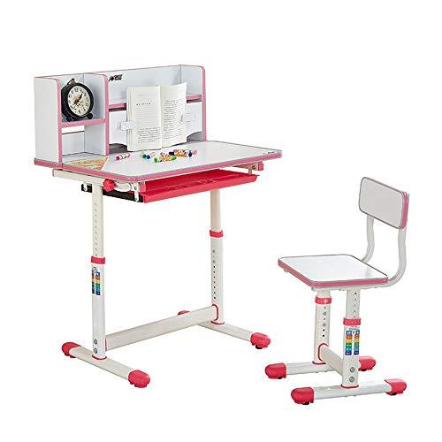 Dfghbn Kinder Studie Schreibtisch Stuhl Tisch Set Kippbare Tisch Und Stuhl Für Kinder Art Table Set Work Station (Farbe : Blau)