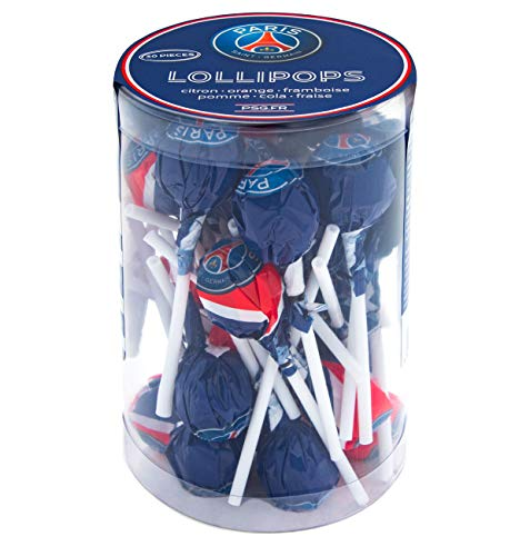PSG Paris Saint-Germain Lollipops, Lutscher, 1er Pack (1 x 300g)