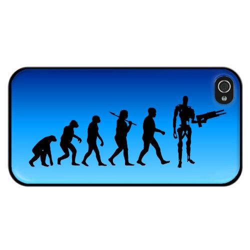 Evolution für ein Evil Robot Design iPhone 5oder 5s Abdeckung (5s Case-terminator Iphone)