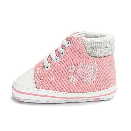 Beikoard Baby Spitze Kleinkind Schuhe Rutschfeste Weiche Unterseite Liebe Drucken Casual Schuhe Baby Stiefel Soft Anti Rutsch erste Walker Schuhe Boot