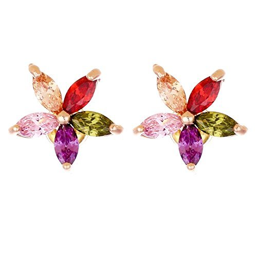 stud-earrings-multi-color-austrian-crystal-flower-18k-yellow-gold-plated-floral-with-organza-bag-by-