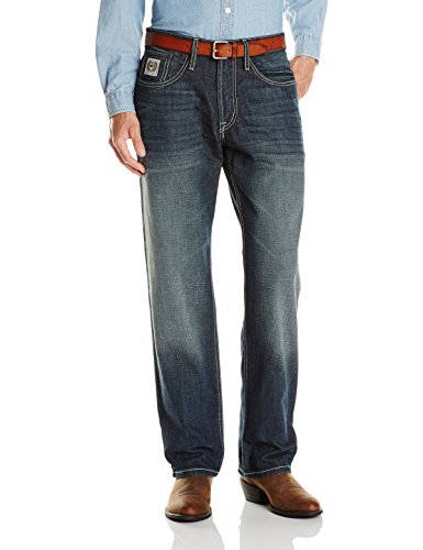Cinch Herren Jeans White Label Relaxed Fit - Blau - 38W / 36L - Cinch-relaxed Fit Jeans
