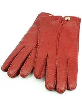 Roeckl Urban Deer Lederhandschuhe für Damen aus Hirschleder - rot/450