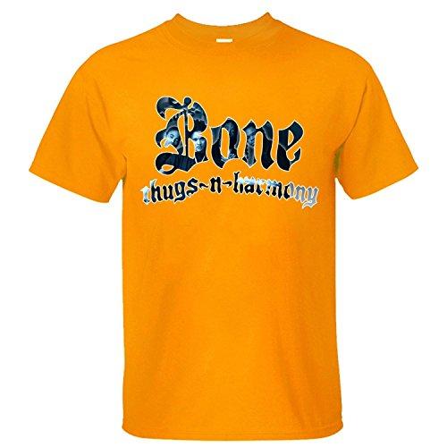 Flip rings Men's Music Band Bone Thugs-N-Harmony T-Shirt (Bone Thugs N Harmony-shirt)