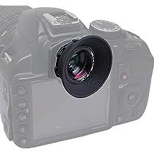 Mcoplus 1.08 x-1, 60 x Zoom visor ocular lupa para Canon 5D Mark II III 6 7 60 70 D de D D 600 550 D y Nikon D7100 D7000 D3100 D800 D750 D600 D90 D80 y la Pentax Sony Olympus Fujifim Samsung Sigma Minoltaz réflex digital