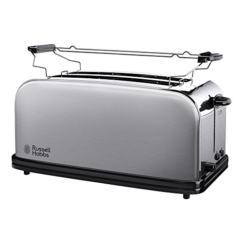 Russell Hobbs 23610-56 Grille-Pain Adventure 2 Longues...