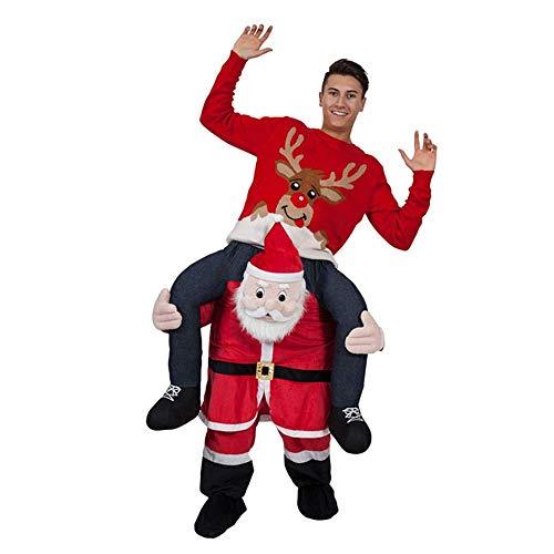 Santa Claus Maskottchen - Unbekannt Animal Back Pants Weihnachten Halloween